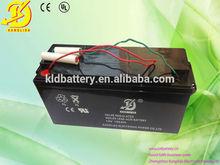 Safe durable valve regulated lead acid 12v 135ah solar battery with High power