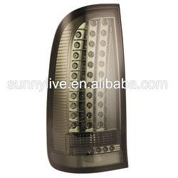 For TOYOTA VIGO LED Tail Lights 2008-2013 year Smoke Black YZ