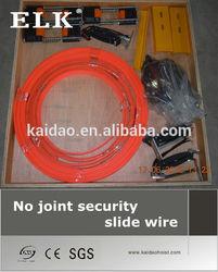 ELK hoist electric slide wire crane power supply system no joint slide wire