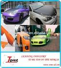2014 new products auto accessories 3D carbon fiber vinyl car sticker with free bubbles