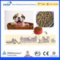 Extruido super perro mascota máquina de comida para perro, gato, de aves, pescado en china