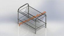 Chrome 2-Tier Dish Rack
