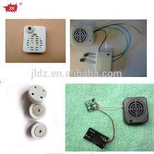 Plastic Motion Sensor Recordable Voice Box For Plush Toys