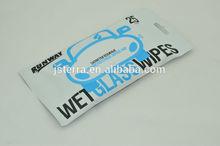 new popular no scratch no damage lint-free car care wet wipes manufacturer