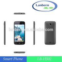OEM ODM MTK6582 super price smart android 4.4k.k 4G EU/AM 4LB LB-H502 5 inchs car alarm that calls cell phone