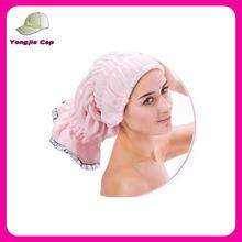 NEW Ladies Magic Hair Drying Towel Hat Cap