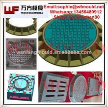 China OEM SMC/BMC/FRP Compression manhole cover and frame mould/manhole cover and frame mold products