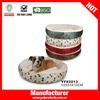 2014 new pet products soft hamburger dog bed
