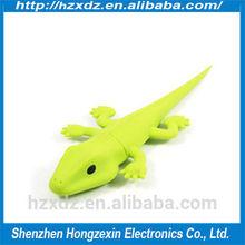 Cheapest promotion Silicone animal 8GB usb flash pen drive,usb pen driver 8gb Lizard