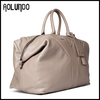 Ivory Large Capacity Full Grain Top Grade Leather Weekend Bag for Weekend Trip