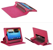 Factory price For Lenovo yoga tablet 8 Stand folio leather case