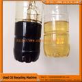 Junneng zsa-8 vácuo planta de destilação para utilizado óleo de motor de plantas de processamento