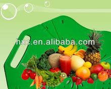 Atacado decoração de plástico dobrável frutas / legumes prato