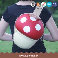2014 new arrival Super Mario Bros mushroom Children school backpack