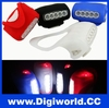 Bicycle Accessories 7LED silicone bicycle warning tail light