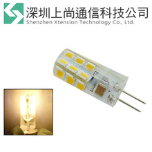 Cool Warm White G4 2835 SMD 24 leds AC 220V 2.5W LED Light Lamp Bulb