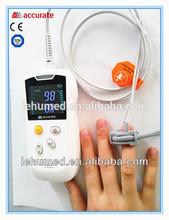 handheld Hemoglobin saturation&Pulse rate pulse oximeter