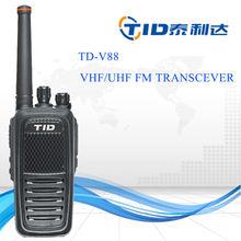 TD-V88 8w vhf/uhf radio long range light weight high technology two way radio