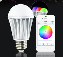 wifi internet controlled led outdoor light bulb