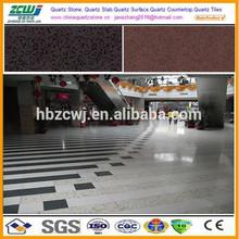 Artificial Quartz Slab Sparkle Quartz Stone Floor Files