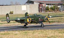 Hugh RC Plane 2M B25 Mitchell Twin Motors