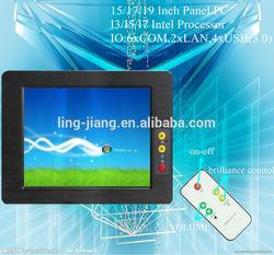 Fanless Touchscreen Panel PC I3/I5/I7 Processor