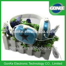 big star headphone/cheap headphones for promotion/green color headphone