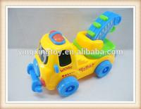 hot sale cartoon toy plastics friction toy truck