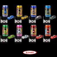 Coke Can Mini RC Car 1:63 Scale Mini RC Car (8 Assorted) R20489
