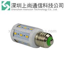 corn bulb 7W SMD 5630 E27 E14 220V 24leds 110V 220V Warm white Cool white Color