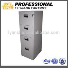 metal document 4 drawer cabinet, drawer filing cabinet