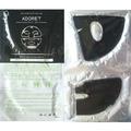 colágeno máscara facial de lama negra máscara carvãovegetal