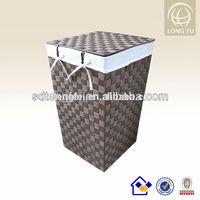 2014 new products plastic basket large nylon woven storage basket