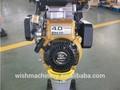 4hp essence robin moteur puissance matériel de construction routière impact. compacteur