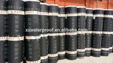 hot sales cheap 2/3/4mm SBS bitumen waterproof membrane, roll building roof asphalt material / aluminum foil sheet