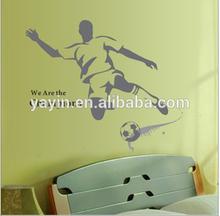 football club wall sticker