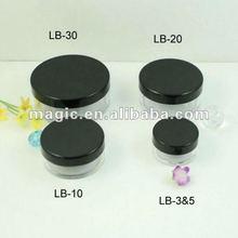 cosmetic packaging loose powder jar,sifter powder 3g jar