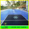 plastic interlocking basketball sport floor tiles