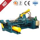 Hydraulic scrap metal baler,Y81 series waste metal packaging machine,compressing scrap cans and car