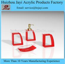 China Supplier custom bathroom accessory shower head, Alibaba hot sale purple bathroom accessories set