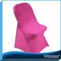 Bon marché populaire plaine, spandex couverture de chaise pliante pour la famille parti de gros