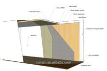 custom design modified sea container house, ISO9001