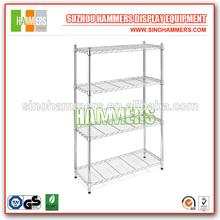 Metal Steel Wire Shelves Cart Storage Garage