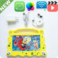 2014 Children's klastor kids android 4 1 tablet with Child Cartoon design