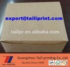 2014 Hot selling Custom take away food kraft paper boxes/kraft paper food packaging boxes/chicken burger boxes