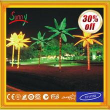 Artificial Mini Palm Trees Led Grow Light 516w