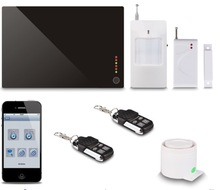 FDL-G1AB House/Villa/Office/Building Home Security GSM Alarm,iOS/Android Application,Quad-band,SMS & Voice Call