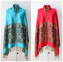 2014 New Cotton Lady Ethnic Style Long Pallium/Shawl