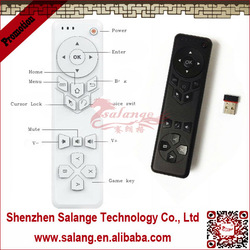 Support Voice Input Can Switch voice from tv pc and android box into speaker in cheap wireless keyboard and mouse by salange