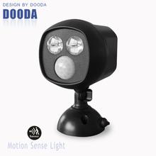Bright indoor led pir motion sensor light